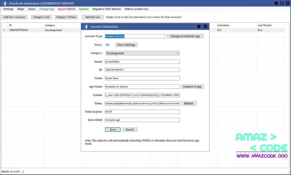 FACEBOOK AUTOMATION 6.8 PREMIUM CRACKED FREE DOWNLOAD