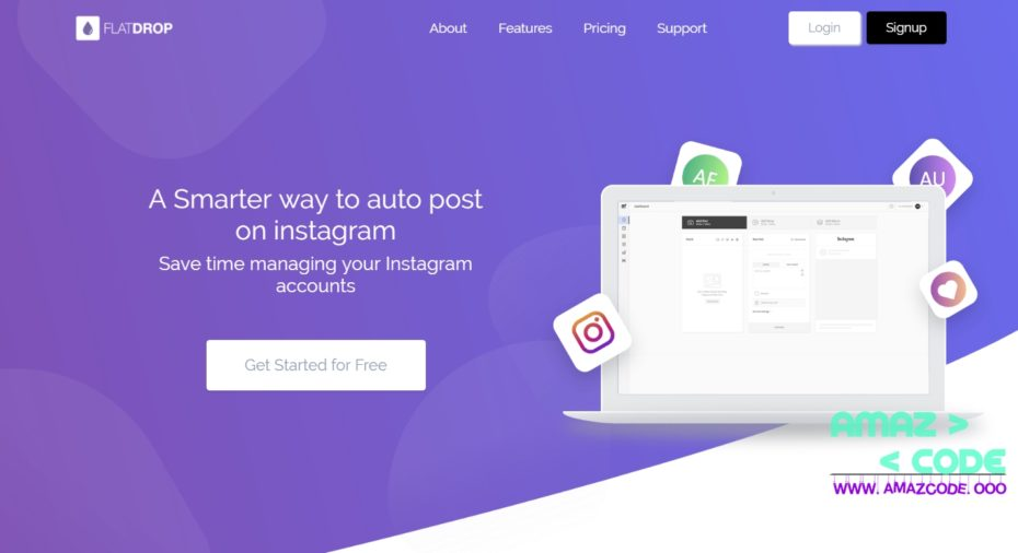 FlatDrop – NextPost Instagram Skin Nulled Download