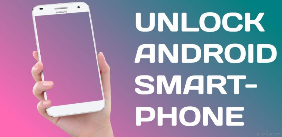 UNLOCK ANDROID PHONE