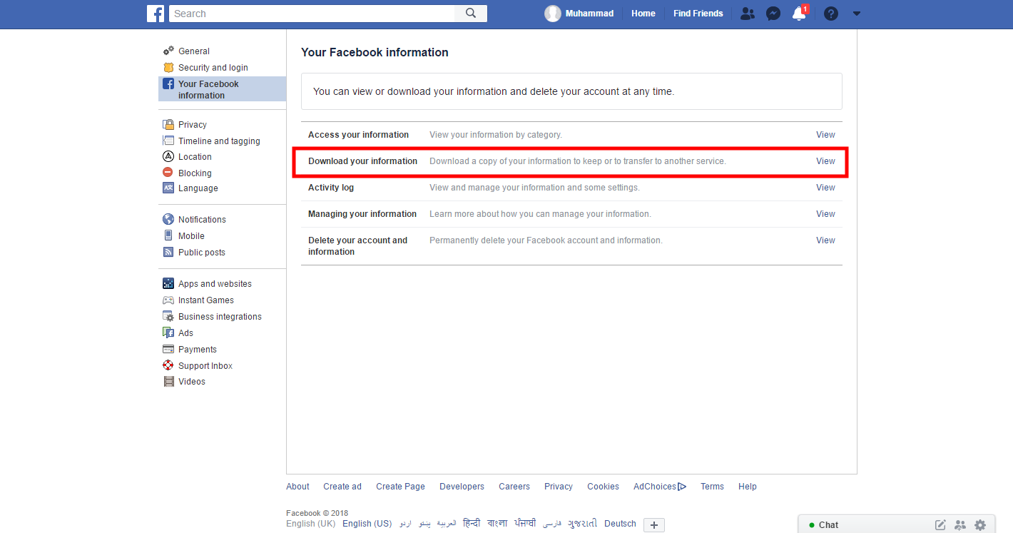 How to Recover Deleted Facebook Messages