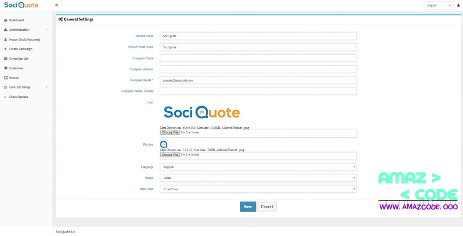 SociQuote V1.1 Nulled