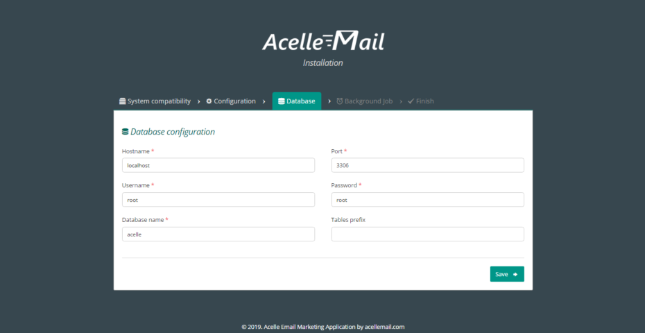 Acelle Email V3.0.21 Nulled - Email Marketing Web Application