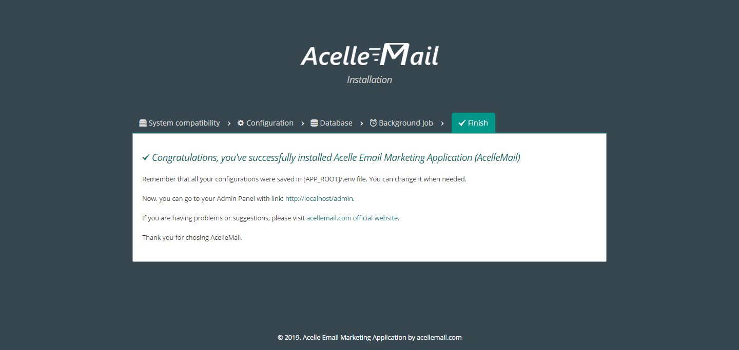 Acelle Email Nulled