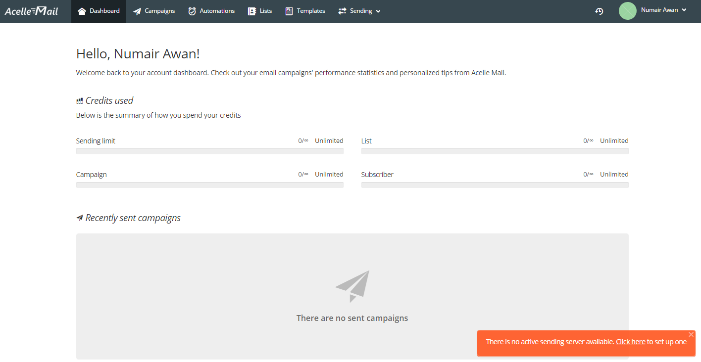 AcelleEmail V3 Nulled