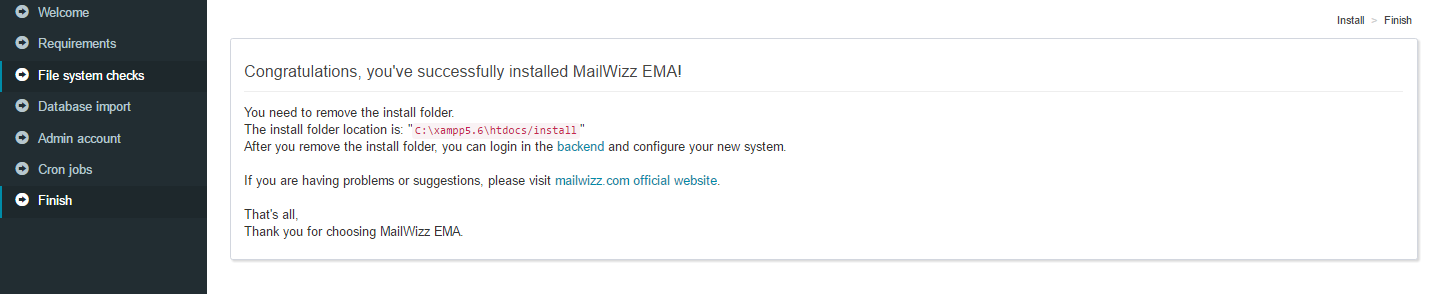 MailWizz V1.7.5 NULLED - Email Marketing Application