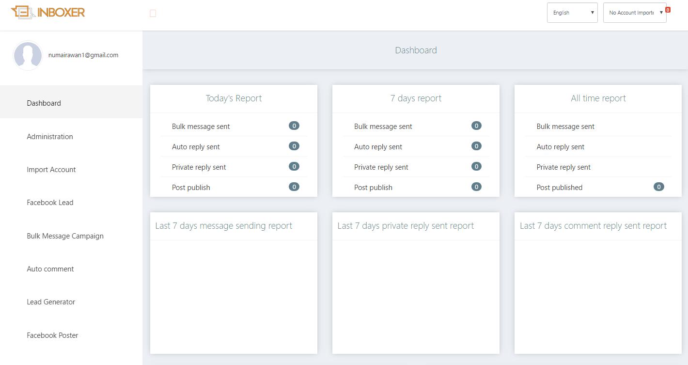 EZ Inboxer v7.3.4 Nulled - Master Marketing Software for Facebook