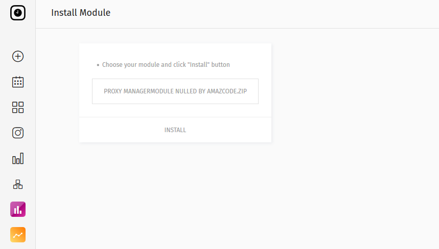 Proxy Manager Module Nulled Features;