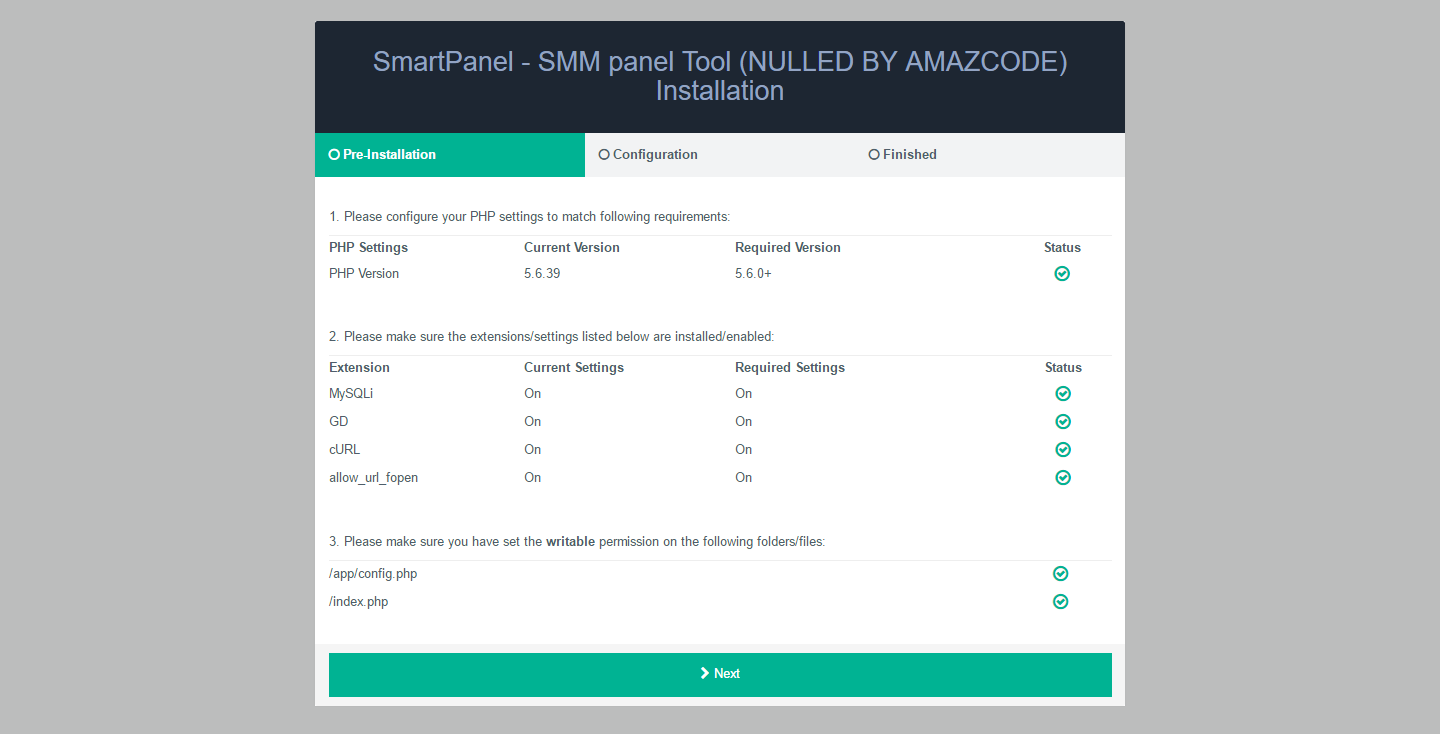 SmartPanel Nulled - SMM Panel Script Nulled Free Download