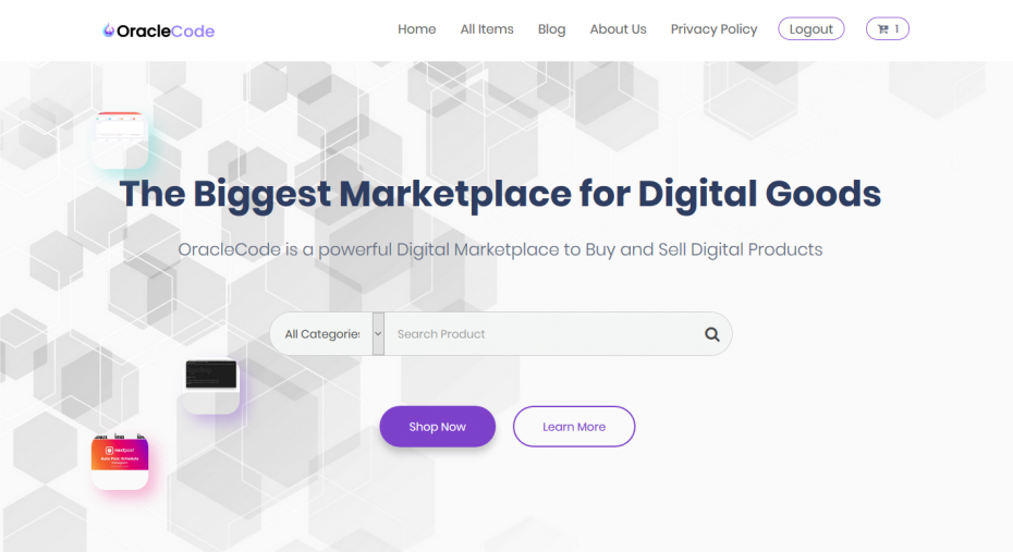 Best Digital MarketPlace to buy Scripts and Tools - OracleCode