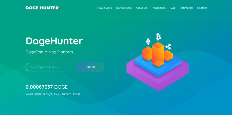 DogeHunter v1.0 Nulled – DogeHunter Dogecoin Mining Platform Nulled