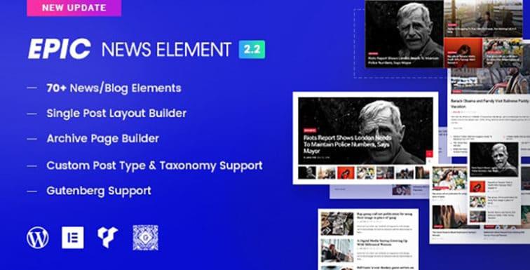 Epic News Elements v2.2.4 Nulled