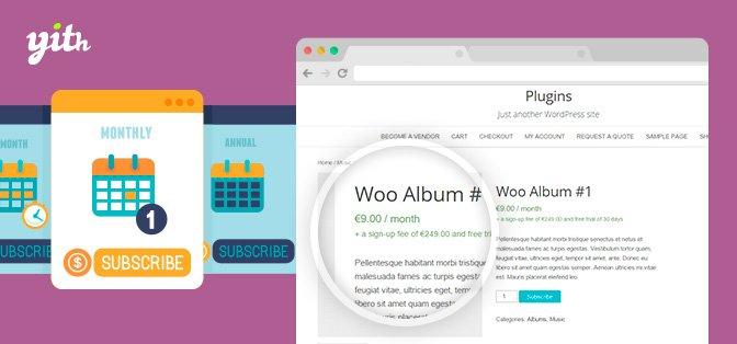 YITH WooCommerce Subscription Premium v1.7.4