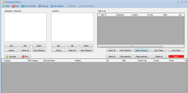 G-Business Extractor v5.2.0 Cracked
