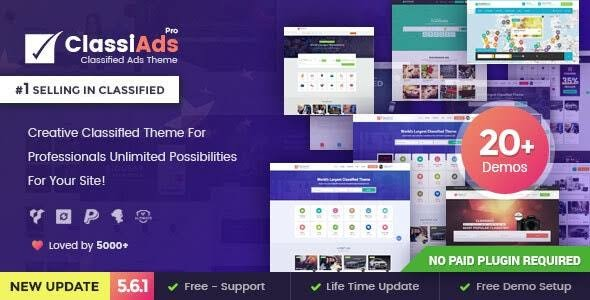 Classiads v5.7 Nulled