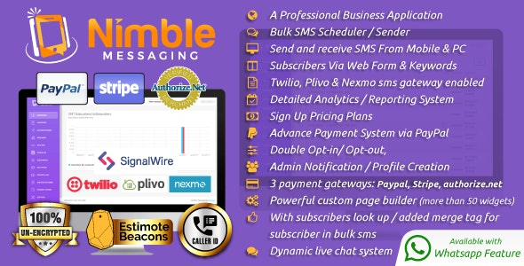 Nimble Messaging v2.5.1 Nulled
