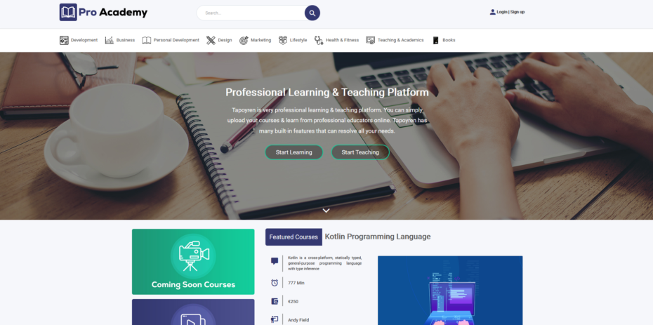 Proacademy v1.3 Nulled