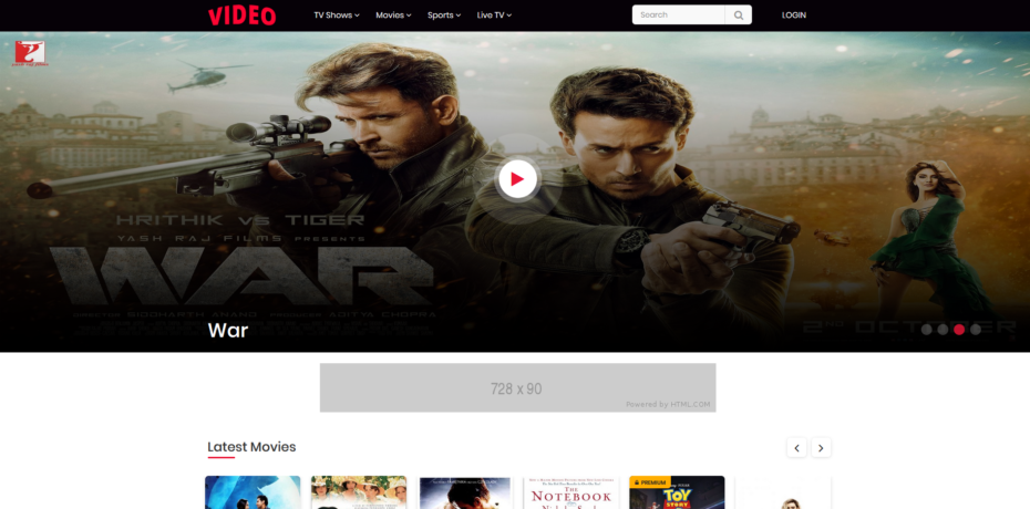Video Streaming Portal Nulled