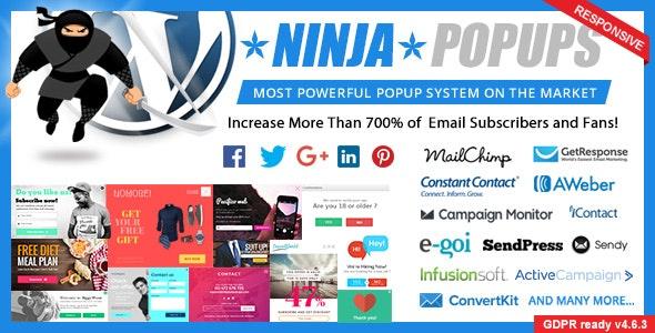 Ninja Popups v4.6.5 Nulled