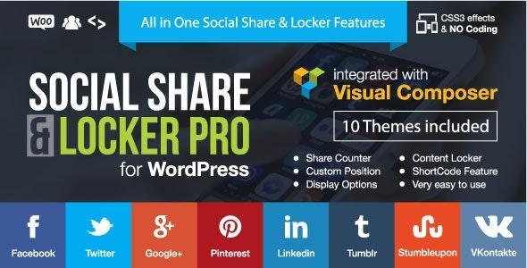 Social Share & Locker Pro v7.7 WordPress Plugin Nulled