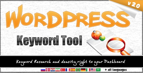 WordPress Keyword Tool v2.3.3