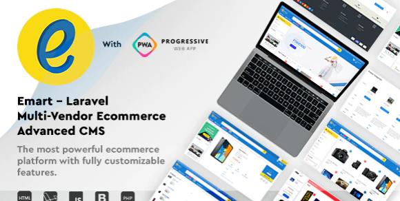 Emart v1.6 - Laravel Multi-Vendor Ecommerce Advanced CMS - Free Download