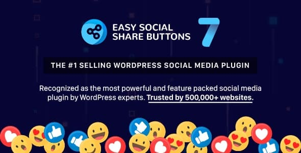 Easy Social Share Buttons v7.7 Nulled